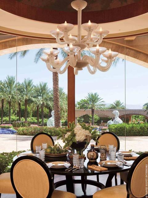 Desert Villa traditional-dining-room