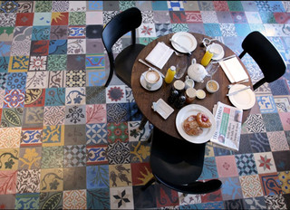 DESIGN FLOOR from OLD SPANISH TILES contemporary floor tiles