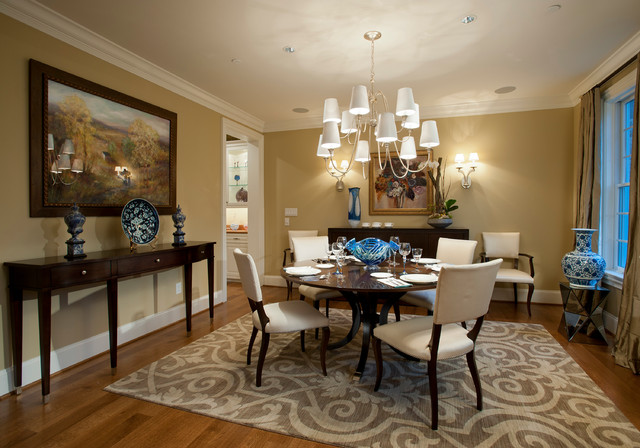 Design Home 2012 Traditional Dining Room