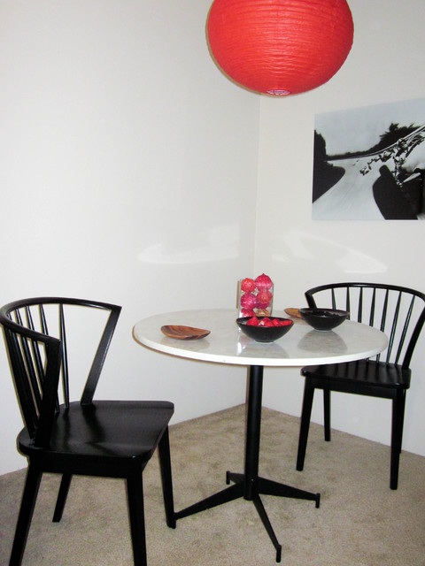 Design on a Budget- Dining area modern-dining-room