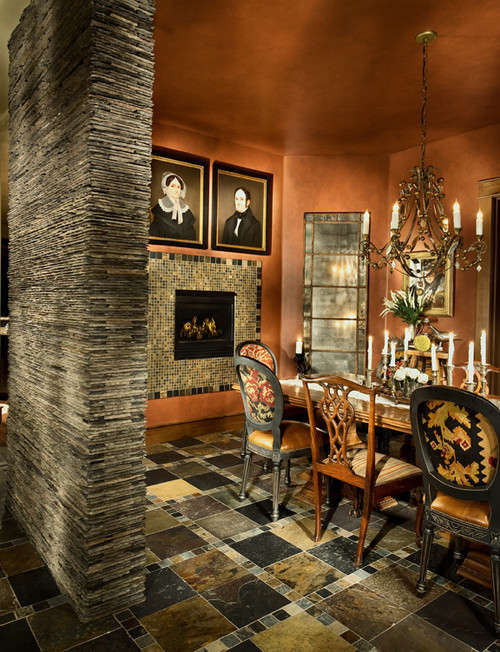 Design the Hall-Way eclectic dining room