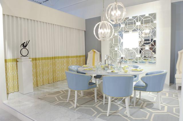 Designer Showcase Transitional Dining Room Vancouver