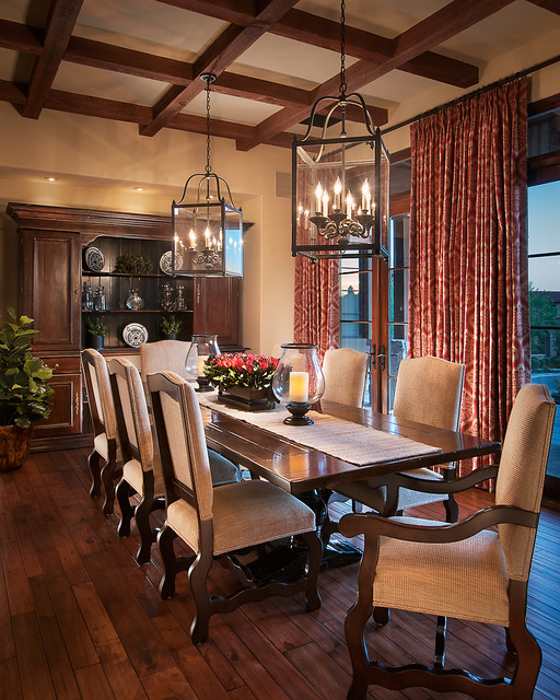 Designers using Lorts Dining Table, Dining Arm Chairs, Dining Side Chairs, Sideb traditional-dining-room