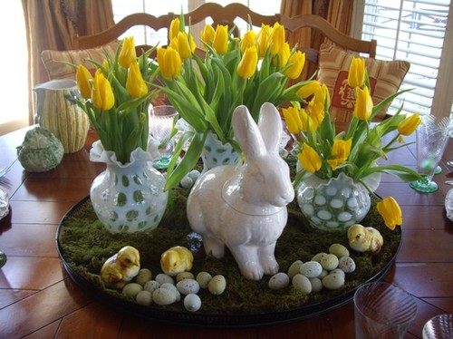 100 easter ideas decorating food and more momma can - Decor de table pour paques ...