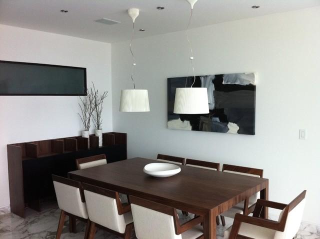 Detalles contemporary-dining-room
