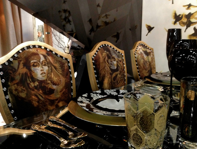DIFFA Dining By Design Showcase eclectic-dining-room