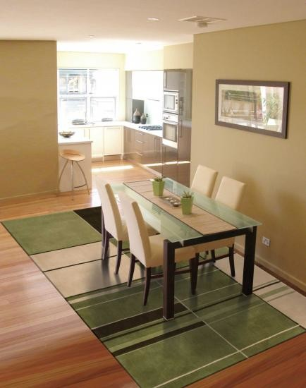 dimensions green wool rug contemporary dining room louisville by oriental rugs outlet. Black Bedroom Furniture Sets. Home Design Ideas