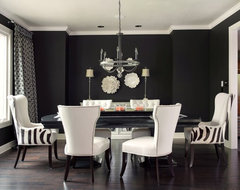 Dine and Dazzle modern dining room