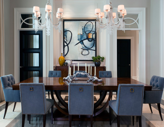 Dining & Kitchen Tables - Transitional - Dining Room - other metro - by Beasley & Henley ...