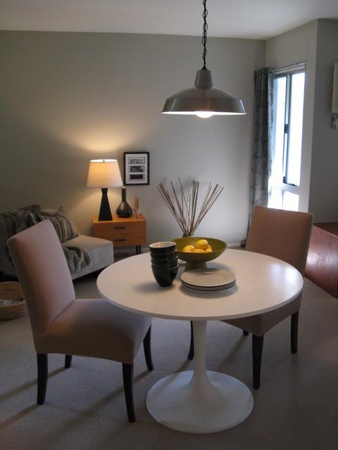 Dining Area in Modern Condo modern-dining-room