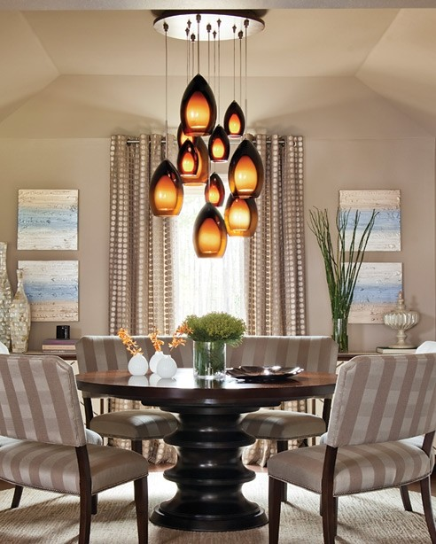 dining area lighting transitional dining room los angeles by