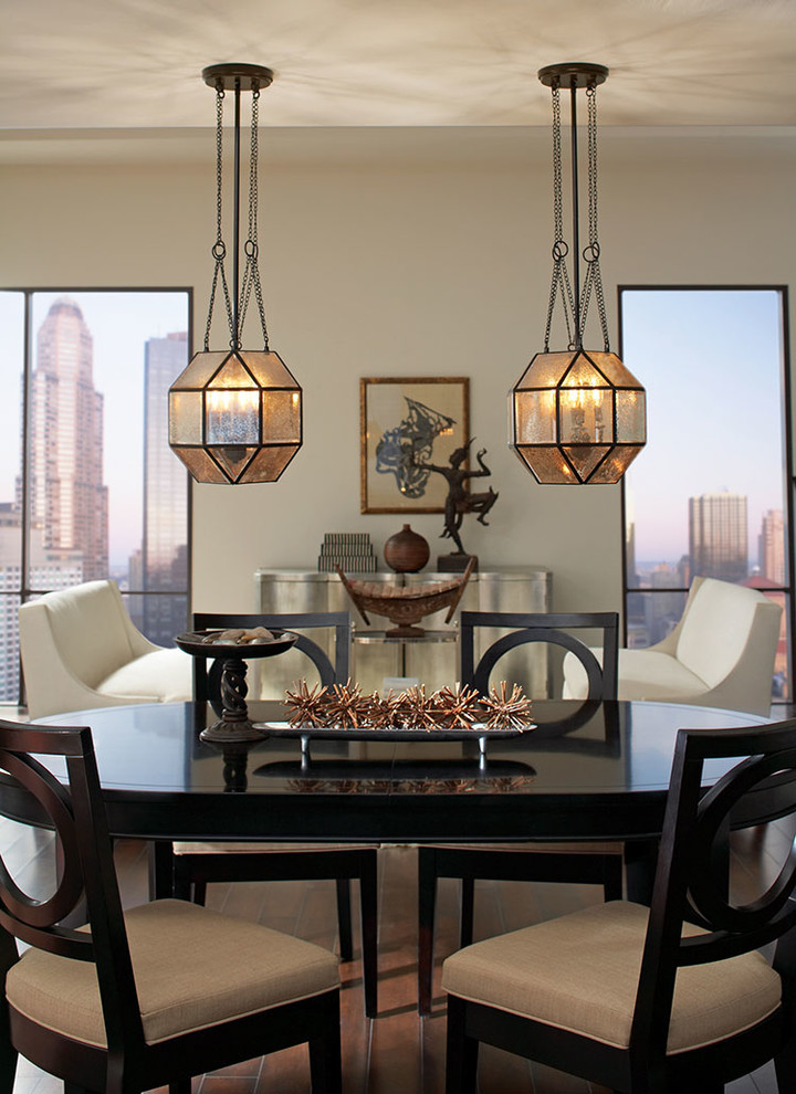 Dining Area Lighting Contemporary