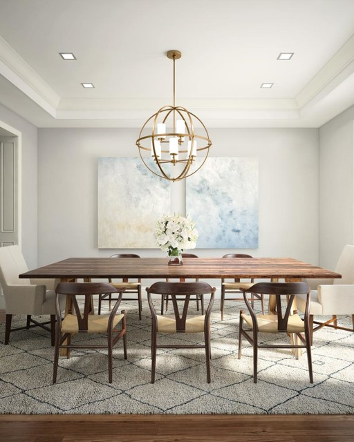 Dining Area Lighting Comedor