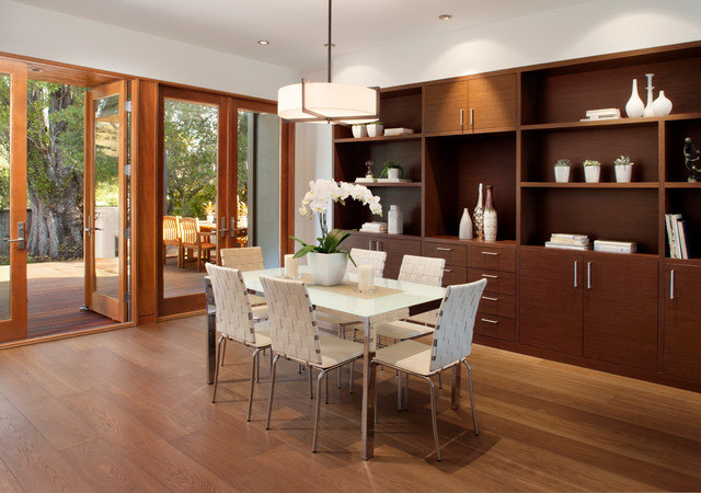 San Mateo contemporary-dining-room
