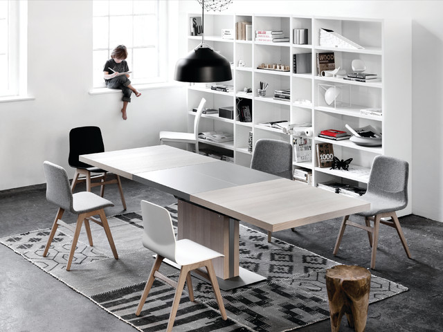 Dining extendable dining tables dining room new york by boconcept us - Table bo concept occasion ...