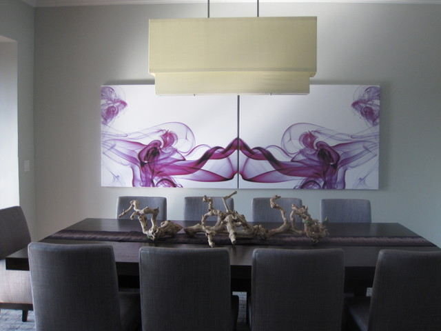 modern dining room by Grainda Builders, Inc.