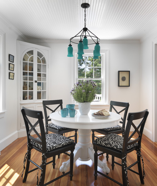 Photo By Kate Jackson Design Look For Beach Style Dining Room Pictures