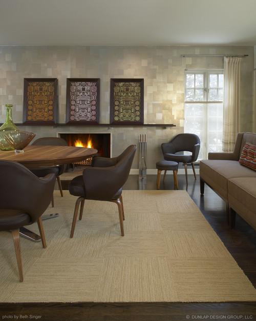 Dining/Living Room modern dining room
