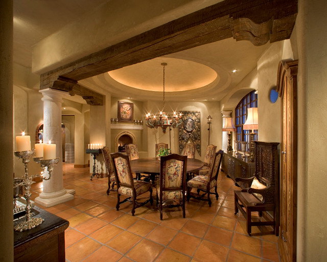 Dining southwestern room phoenix by mooney