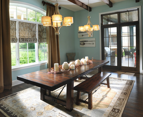 Nice These Dining Room Window Treatment Ideas Are Sure To Help Create A Stylish  And Inviting Gathering Place For Family And Friends. Whether Coming  Together For ...