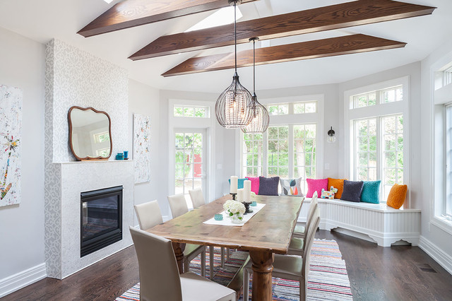 Dining Room Addition - Transitional - Dining Room - New York - by ...