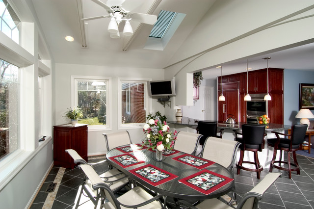 Dining room addition traditional dining room other metro by sun design remodeling - Dining room additions ...