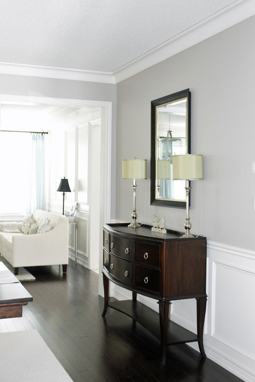 Picking the perfect gray paint revere pewter the for Warm grey interior paint