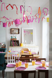 Dining room & birthday