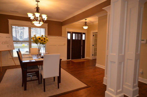 Dining room front entry for Dining room entrance designs