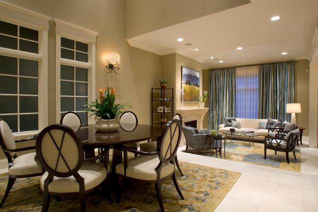 Elegant great room photo in Chicago