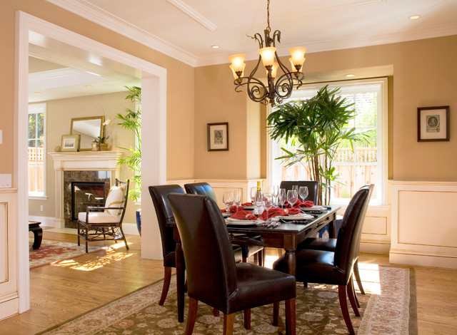 Dining room for Traditional dining room color ideas