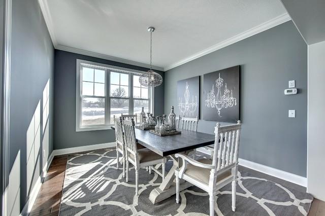 Dining Room - Audubon Model - 2014 Spring Parade of Homes transitional-dining-room