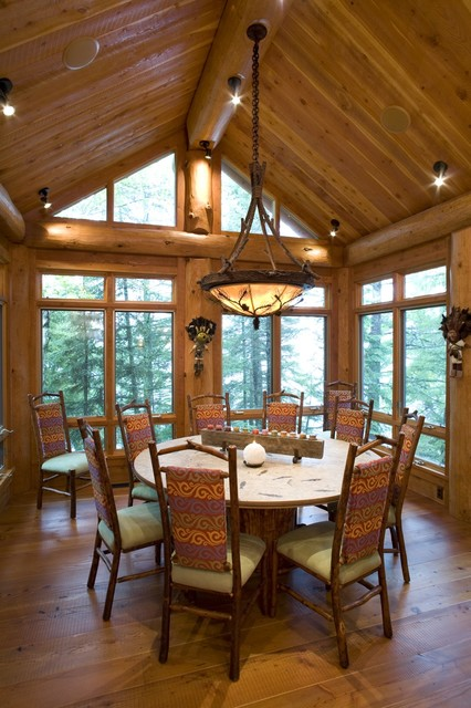 Dining Room - Rustic - Dining Room - Minneapolis - by Bill Michels ...