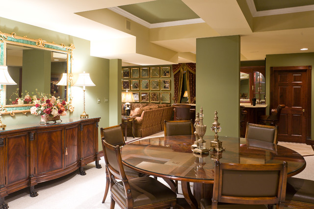 Dining Room by Paige Patterson at Sheffield Furniture & Interiors traditional-dining-room