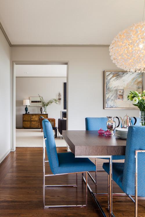 Contemporary Dining Room by San Francisco Interior ...