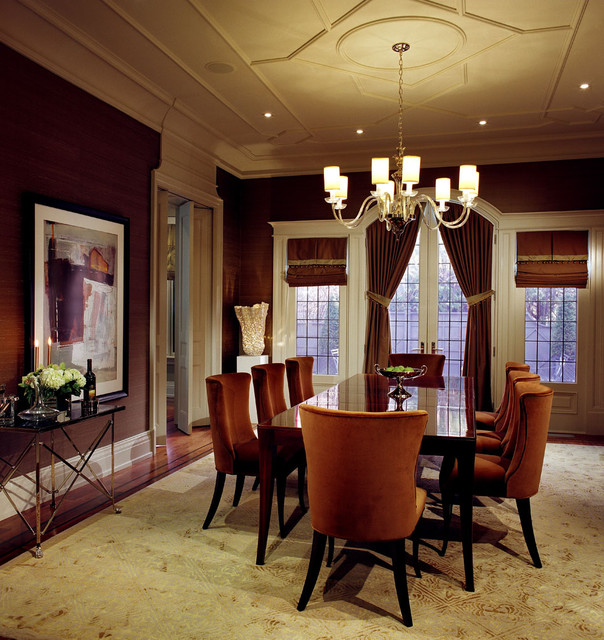 Dining Room Transitional Dining Room Toronto By