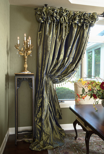 Dining Room Draperies - Contemporary - Dining Room - Minneapolis ...