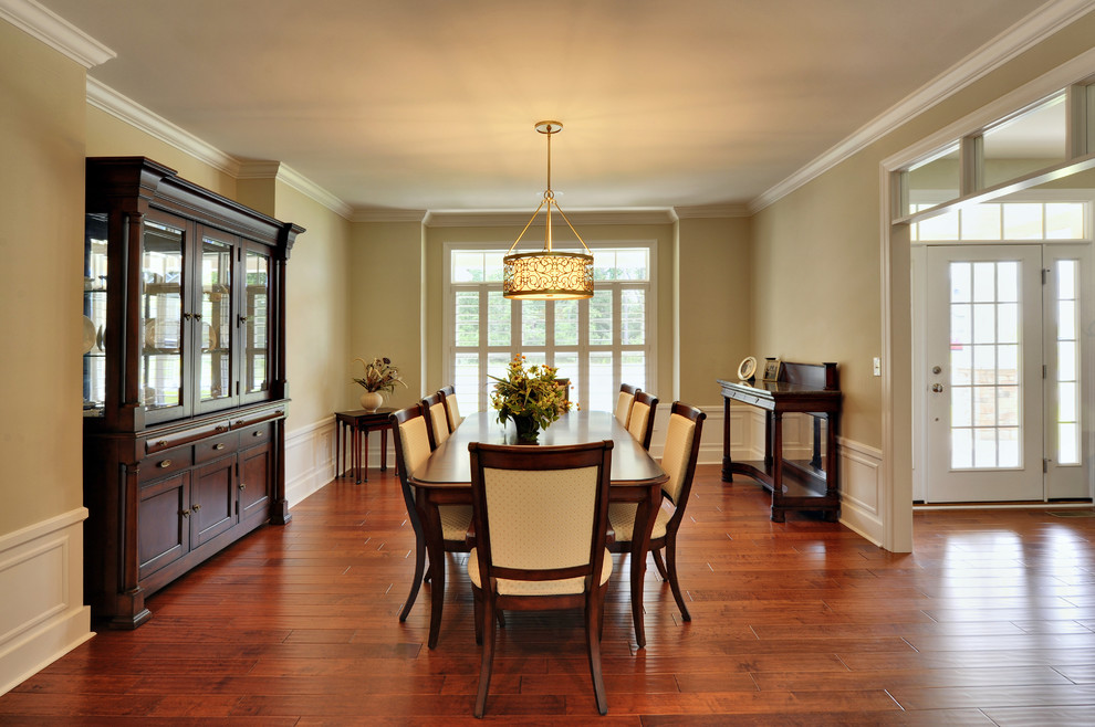 Elegant dining room photo in Philadelphia