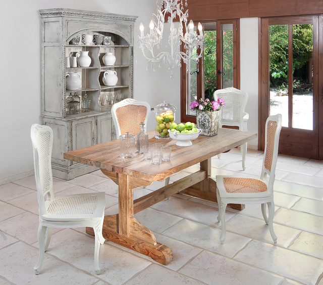 Rustic Chic Dining Chairs dining room - shabby-chic style - dining room - other -elad gonen