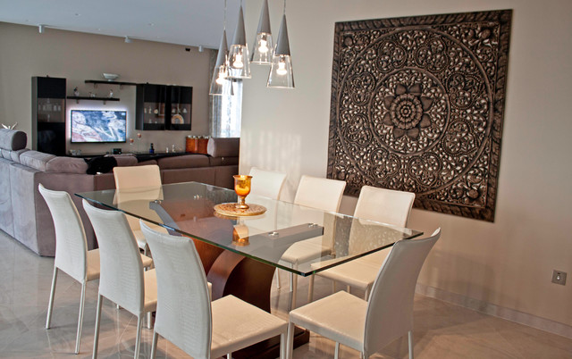 Dining Room Feature Wall Mellieha Penthouse