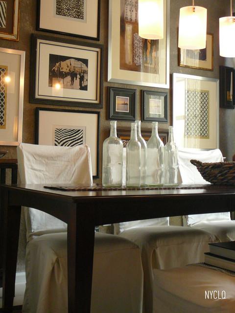 DINING ROOM - GALLERY WALL contemporary-dining-room
