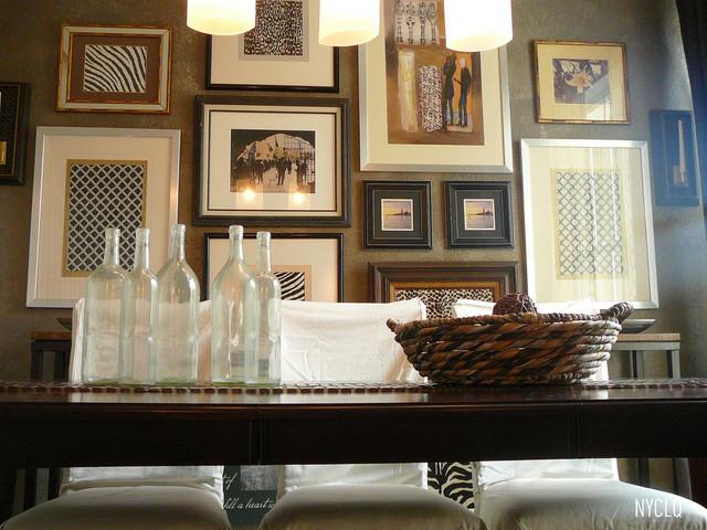 DINING ROOM - GALLERY WALL - Contemporary - Dining Room ...