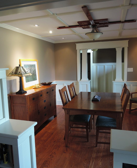 dining room craftsman dining room indianapolis by gmg
