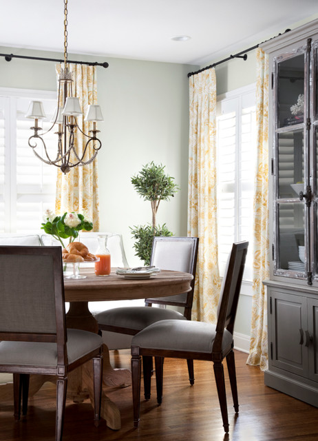 Traditional Dining Room by Heather Scott Home & Design