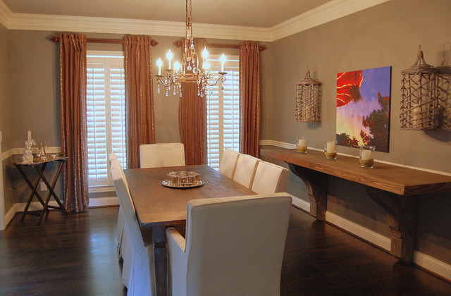 Dining room for Eclectic dining room ideas