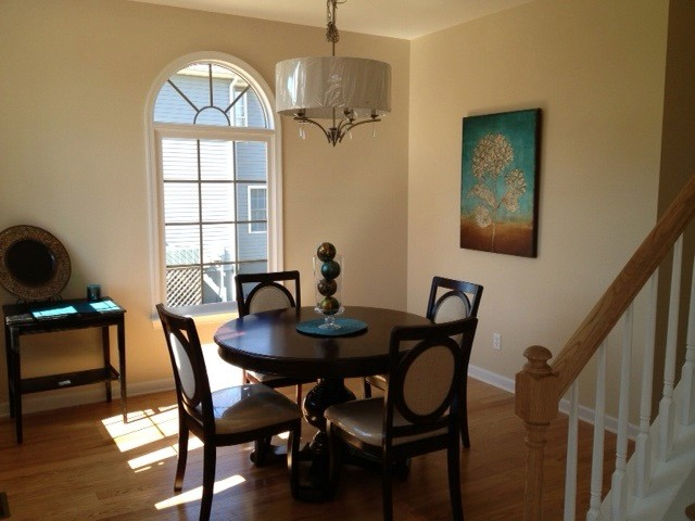 """Dining Room in one of our New Construction Homes: """"Affordable Lines"""" traditional-dining-room"""