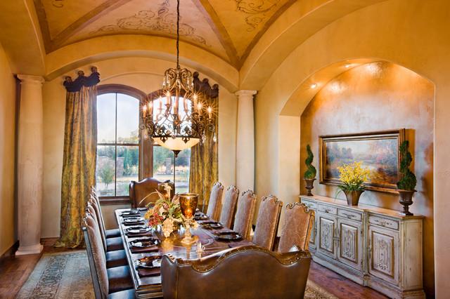 dining room mediterran esszimmer austin von. Black Bedroom Furniture Sets. Home Design Ideas