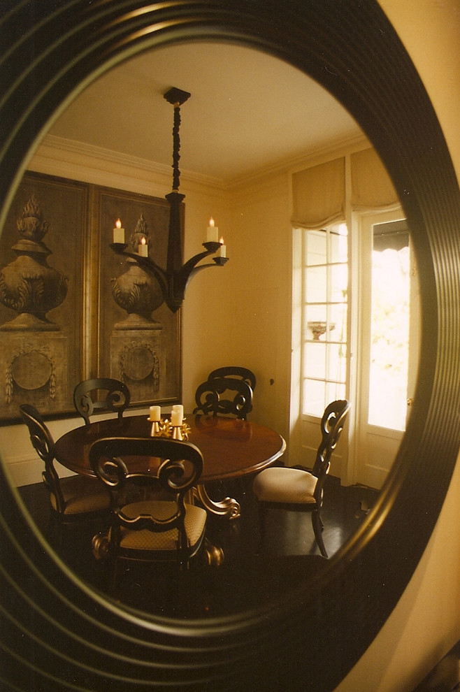 Dining room - eclectic dining room idea in Other
