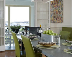 contemporary dining room by Kate Jackson Design