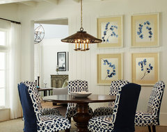 Indian Harbor Residence traditional dining room
